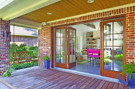 Exterior Single French Door by Beyond The Slide Trends In Patio Doors Nanawall