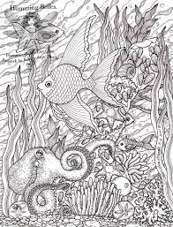 coloring pages for grown ups humming belles