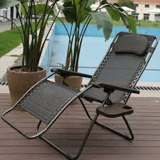 Folding Chair With Table Beach U0026 Lawn Chairs