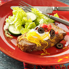 family favorite taco meat loaf recipe taste of home