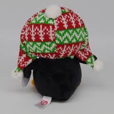 ty beanie boos 6 u2033 15cm penelope christmas penguin plush stuffed