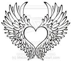 heart with wings tattoo by metacharis on deviantart rip my