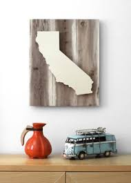 stylist design california wall decor wood sign state custom pallet