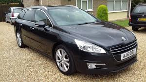 peugeot estate cars 2012 peugeot 508 allure sw 2 0 hdi auto automatic estate cars