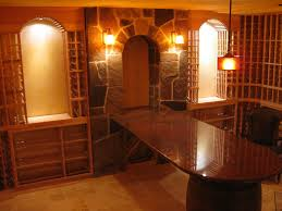 dramatic wine cellar in new jersey building wine cellars with