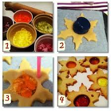 Baking Christmas Tree Decorations how to make stained glass biscuits for your christmas tree