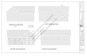 Grage Plans Download Free Rv Barn Plan G303 18 U0027 X 45 U0027 14 U0027 U0026 24 U0027 X 28 5