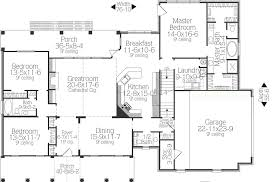 2 bedroom cottage floor plans southern house plan with 3 bedrooms and 2 5 baths plan 5558