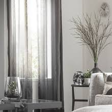 Grey Sheer Curtains Custom Ready Made Sheer Curtains Quickfit Blinds Curtains