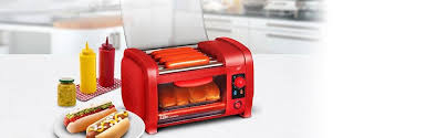 Oven Grill Toaster Amazon Com Elite Cuisine Ehd 051r Maxi Matic Dog Toaster Oven