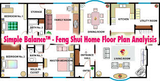 feng shui for home simple balance feng shui home floor plan analysis nine steps