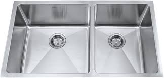 30 inch undermount double kitchen sink kraus khu103r333 33 inch under mount 70 30 double bowl stainless