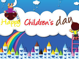 happy childrens day rainbow color kids wallpaper