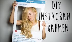 diy instagram rahmen photo booth party youtube