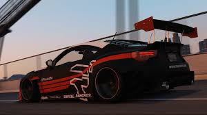 subaru supercar subaru brz rocket bunny v3 add on replace livery gta5 mods com