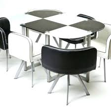 Space Saver Dining Set Table Four Chairs Dining Set Four Chairs Dining Room Space Saver Dining Set Table