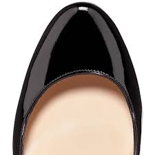 christian louboutin fifi patent leather black louboutin impera
