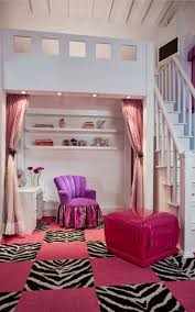 pink carpet also purple color of chair also baby pink curtain also