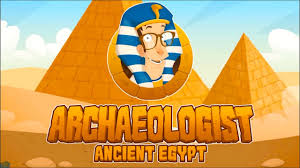 archaeologist ancient egypt game app for kids discovering secret
