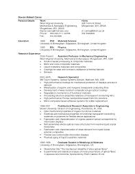 Curriculum Vitae Personal Statement Samples Mechanical Engineering Cv Personal Statement U0026 Online Writing Lab