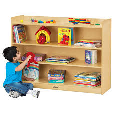 your kids will love storing their essentials in mobile bookcase