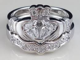 claddagh wedding ring sets claddagh wedding rings several things to select
