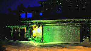 House Christmas Light Projector by Blisslights Classic Spright Demonstration Youtube