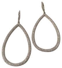 cubic zirconia drop earrings nadri white cubic zirconia pave drop earrings tradesy