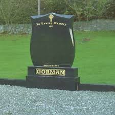marble headstones view complete headstone range navan memorials