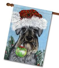 Miniature Flags Schnauzer Pure At Heart House Flag 28 U0027 U0027 X 40 U0027 U0027 Custom