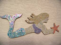 Mermaid Home Decor Diy Mermaid Home Decor With Stained Glass Mosaic Aria Kitchen