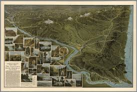 Maps Portland Oregon by America U0027s Greatest Scenic Asset The Columbia River Highway