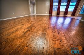 closeup of gorgeous scraped hardwood floors showmeokc