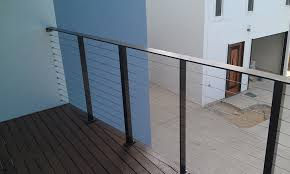 Stainless Steel Banisters Stainless Steel Wire Balustrade Gallery