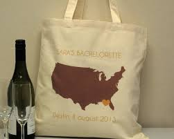 wedding totes any us state wedding totes custom wedding welcome bags