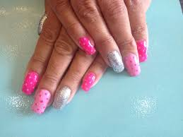 25 pink acrylic nail art designs ideas design trends