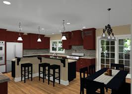 l shaped kitchen with island 13335