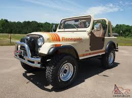 tan jeep renegade renegade cj 7