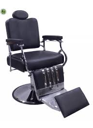 classic chair classic barber chair in black devlon northwest
