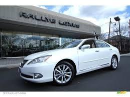 lexus es 2011 2011 starfire white pearl lexus es 350 61499583 gtcarlot com