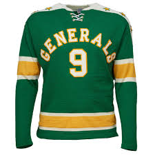 greensboro generals 1960 hockey sweater ebbets field flannels