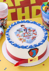 paw patrol round cake ideas 33880 cake decorating ideas fo