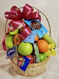 snack basket delivery fruit gift basket delivery daily from breitinger s flowers white
