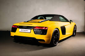 Audi R8 Spyder - 2017 audi r8 spyder launched in britain from 129 900 autoevolution