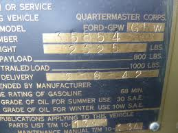 jma 490 1942 ford gpw