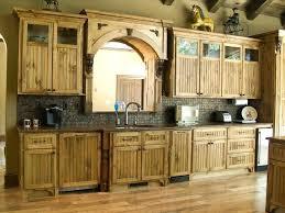 Oven Backsplash Rustic Backsplash Oven And Microwave Alder Kitchen Cabinets Rustic