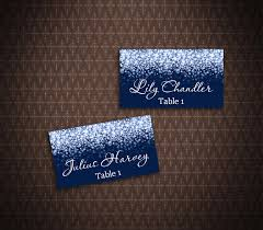 place cards diy silver sparkle and navy wedding place card tents place cards diy