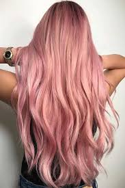 rose gold hair color trends 2018 gold rose hair color rose gold hair color will