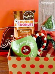 Christmas Gift Baskets Ideas Coffee And Donuts Christmas Gift Basket Sprinkle Some Fun