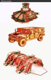 humvee clipart ink u0026 watercolor effects in blender u2013 studio llb